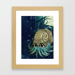 (#138) Omanyte Framed Art Print