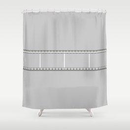 Film strip Shower Curtain
