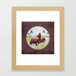 #HoneyHunter Framed Art Print
