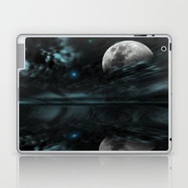 Astral Echoes Teal Laptop & iPad Skin