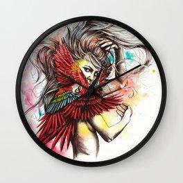 My spirit animal Wall Clock