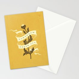 Tomorrow Stationery Cards