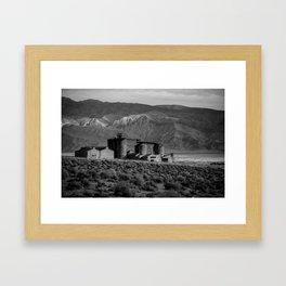 ABANDONED Framed Art Print