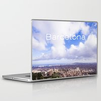 barcelona Laptop & iPad Skins featuring Barcelona by LaiaDivolsPhotography