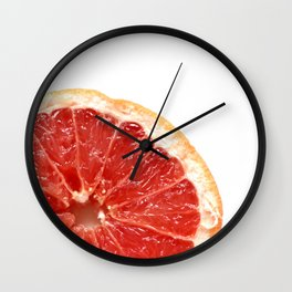 Grapefruit Wall Clock