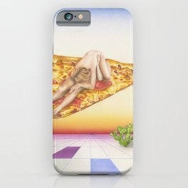 Pizza 69 iPhone Case
