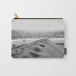 Walking the beach NO1 Carry-All Pouch