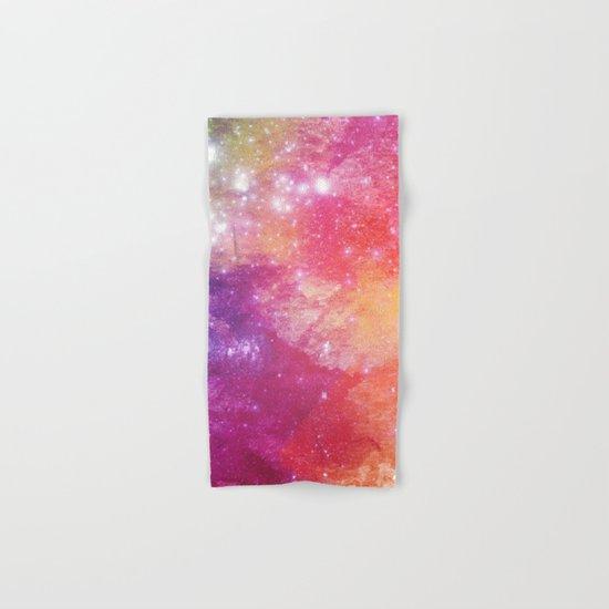 Watercolor space #2 Hand & Bath Towel