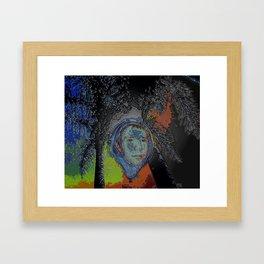 Inna Bubble Framed Art Print