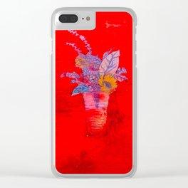 dunkin Clear iPhone Case