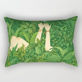 I wanna love u now Rectangular Pillow