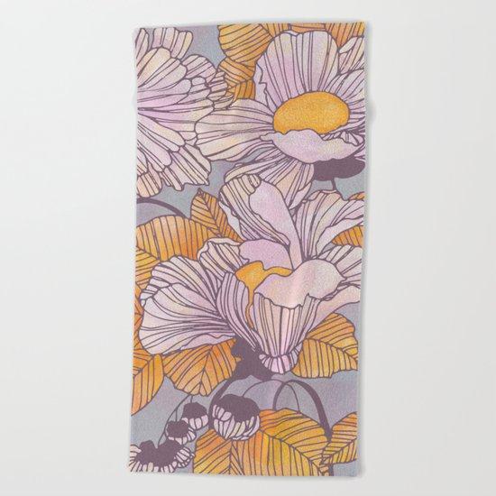 Sun Blossoms Beach Towel