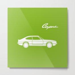 Ford Capri Metal Print