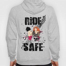 Motocross Girl - Ride Safe Hoody