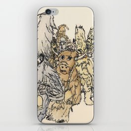 Koukeri (Mummers) iPhone Skin