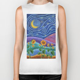 Dream Fields Biker Tank