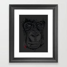 Munkygiga Framed Art Print