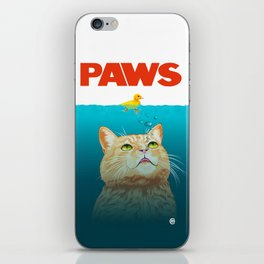 Paws! iPhone Skin