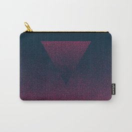 OMBRE / raspberry Carry-All Pouch