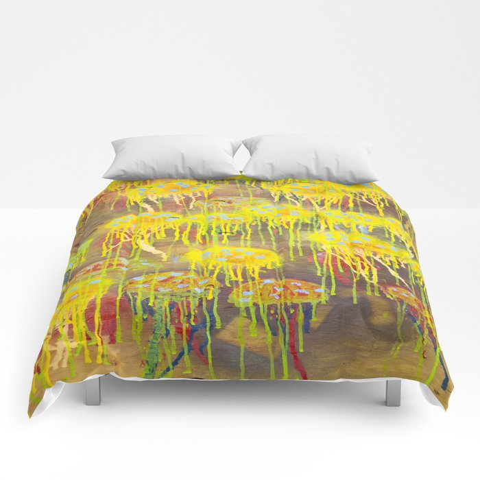 Polka Dot Jellyfish Comforters