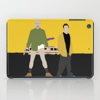 breaking bad iPad Cases featuring Breaking Bad by Bill Pyle