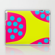 Green Purple Dots Laptop & iPad Skin