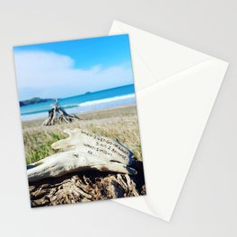 When I let go.....Lao Tzu Quote Stationery Cards