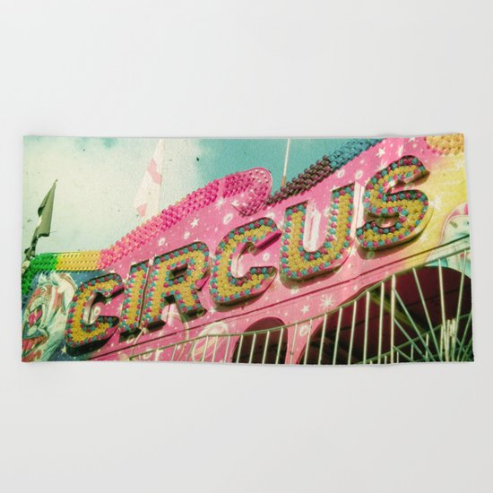 Circus Beach Towel