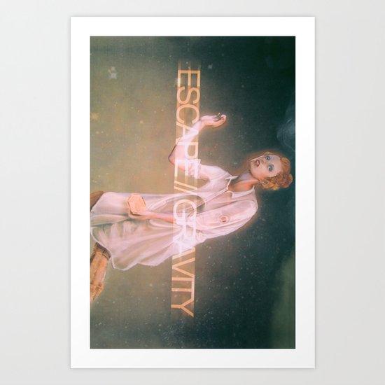 Escape Gravity And Into Space Art Print