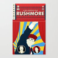 rushmore Canvas Prints featuring Rushmore by Bill Pyle