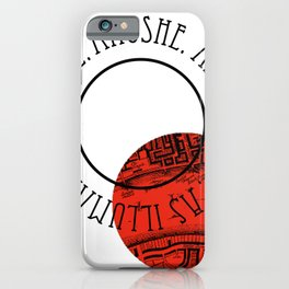 SHADES OF MAGIC | V.E.SCHWAB iPhone Case