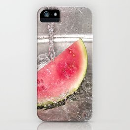 Watermelon In Water iPhone Case