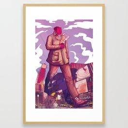# Hot cappuccino Framed Art Print