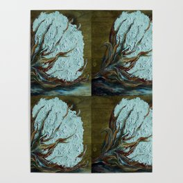 Four Square Cotton Poster