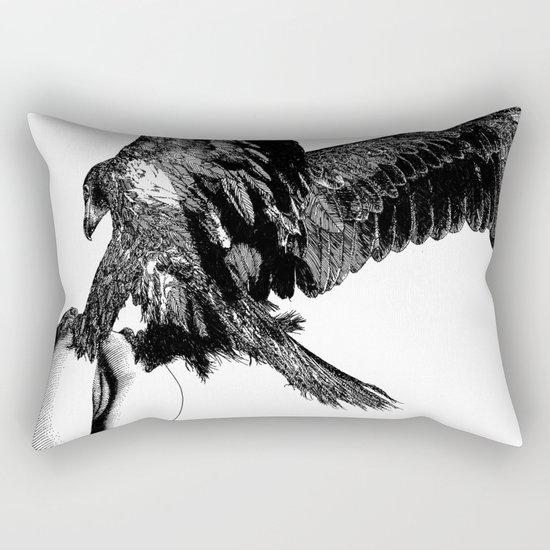 asc 636 - La fauconnière (Bird of prey) Rectangular Pillow