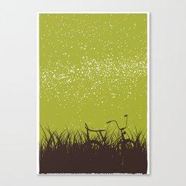 Bike - Starry Skies Series 1 Canvas Print