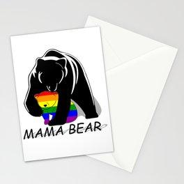 Mama Bear Gay Stationery Cards