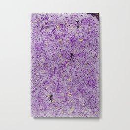 Purple People Eater Metal Print