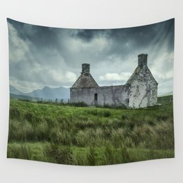 The Abandoned House Wall Tapestry