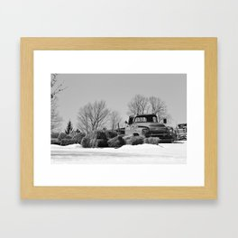 Retired Framed Art Print