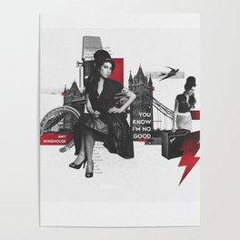 Amy W - London Poster