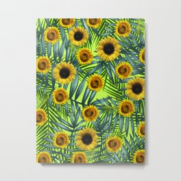 Sunflower Party #3 Metal Print