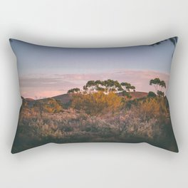 Morning in the Outback Rectangular Pillow