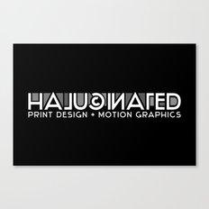 Halucinated Logo Canvas Print
