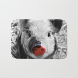 BW splash sweet piglet Bath Mat