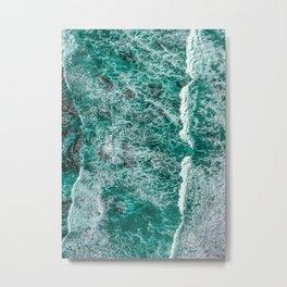 Turquoise Sea 2 Metal Print