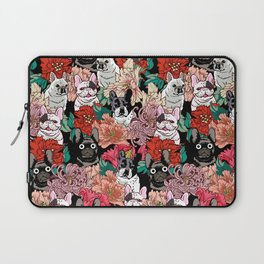 Because French Bulldogs Laptop Sleeve