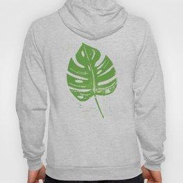 Linocut Leaf Hoody