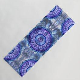 Hydrangea Mandala Yoga Mat