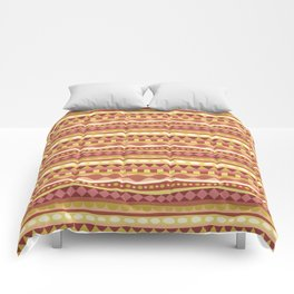Stripey-Canyon Colors Comforters
